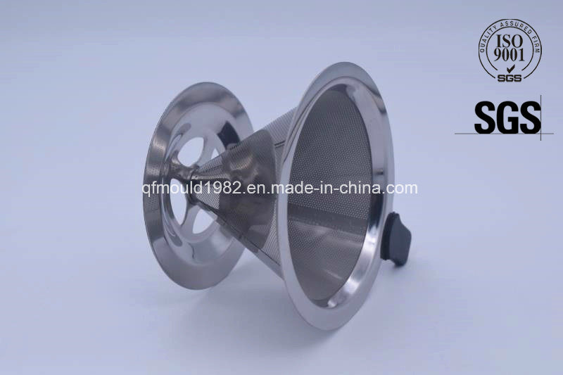 Stainless Steel Perforated Mesh Coffee Dripper