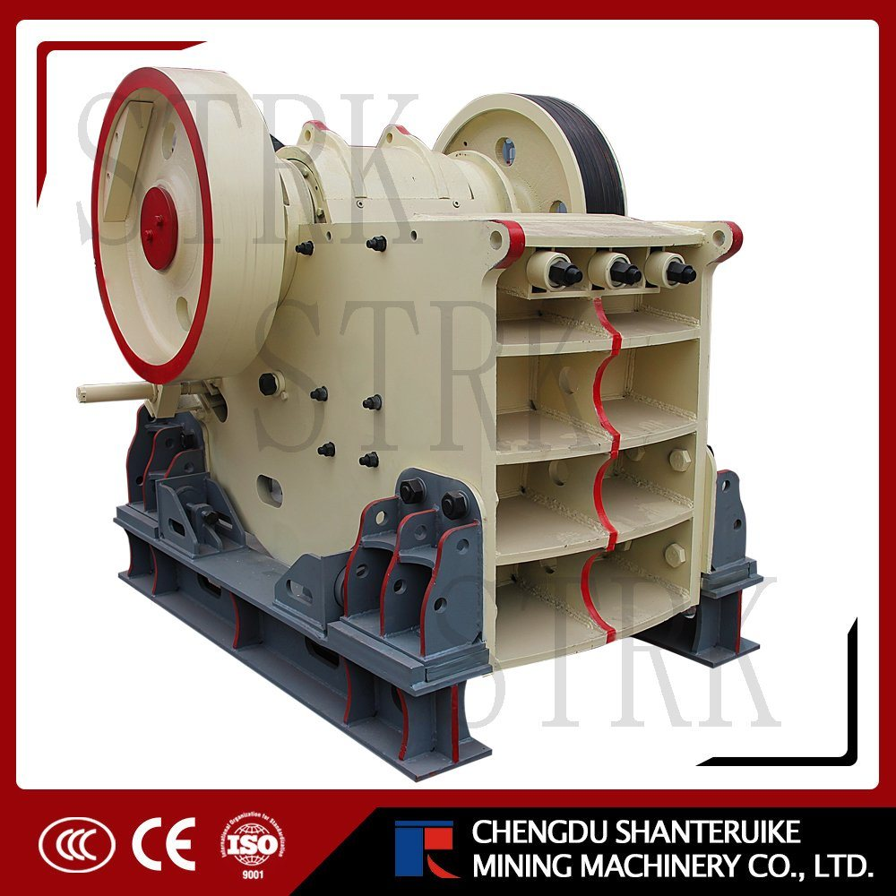 Jaw Crusher Energy Saving Stone Jaw Crusher with ISO 9001 Certificate
