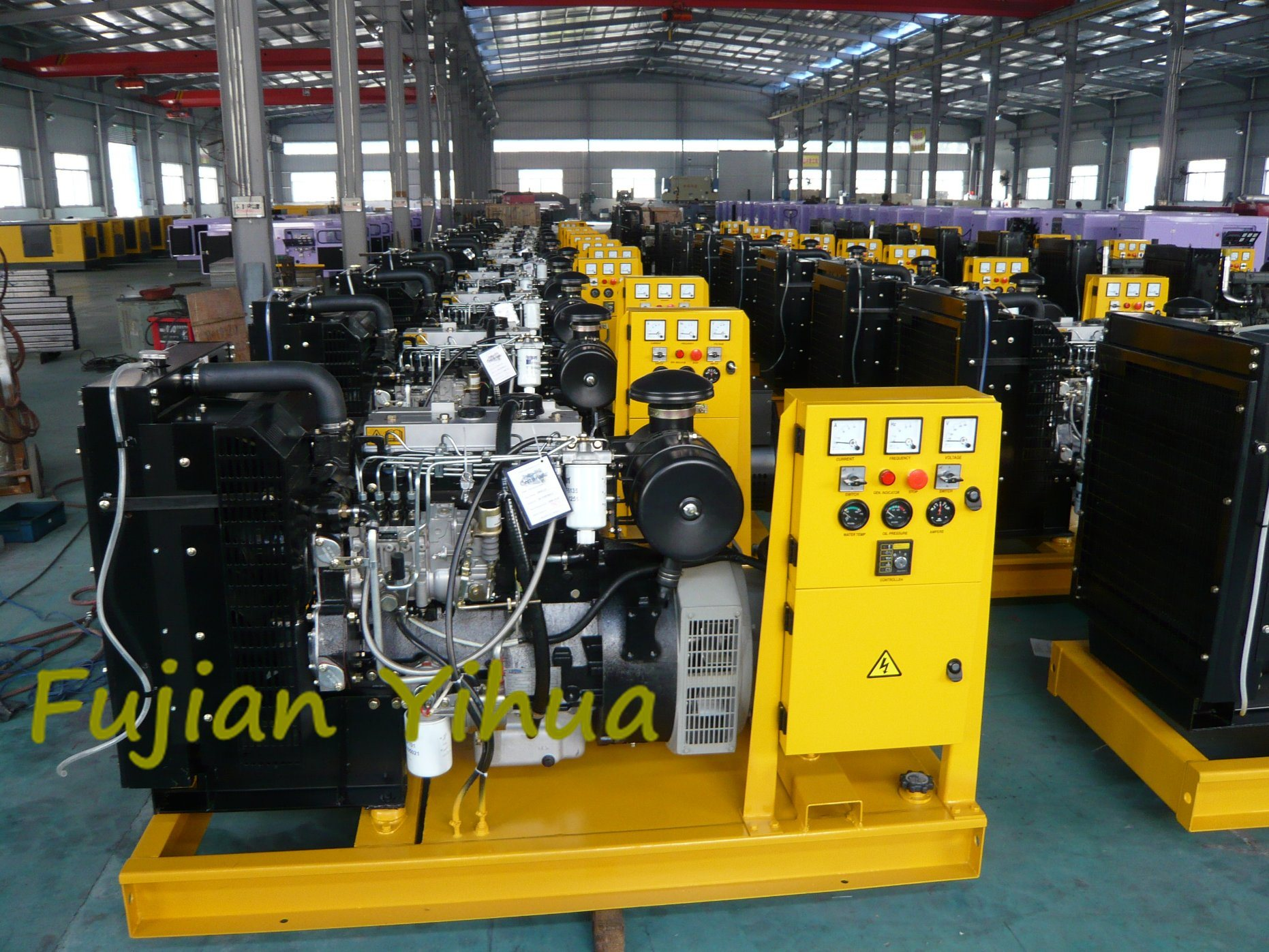 Good Quality! Open Type Lovol Diesel Generator Set