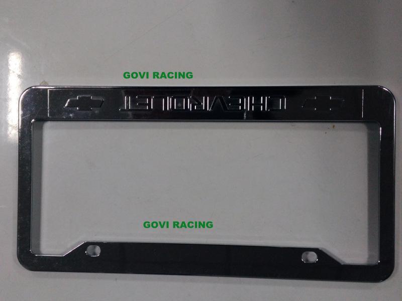Custom License Plate Frames with ABS 312X160mm Chromed Plate Holder