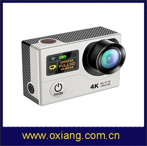 Sport Action Cam 4k Video Camera/Mini Sport Camera/Action Sport Camera with WiFi Ox-H3r