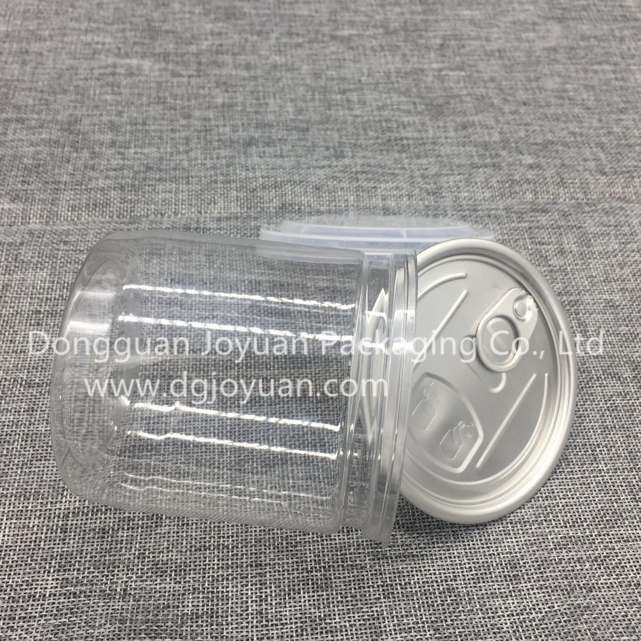 Dried Fruit Packaging Plastic Pet Can with Eoe