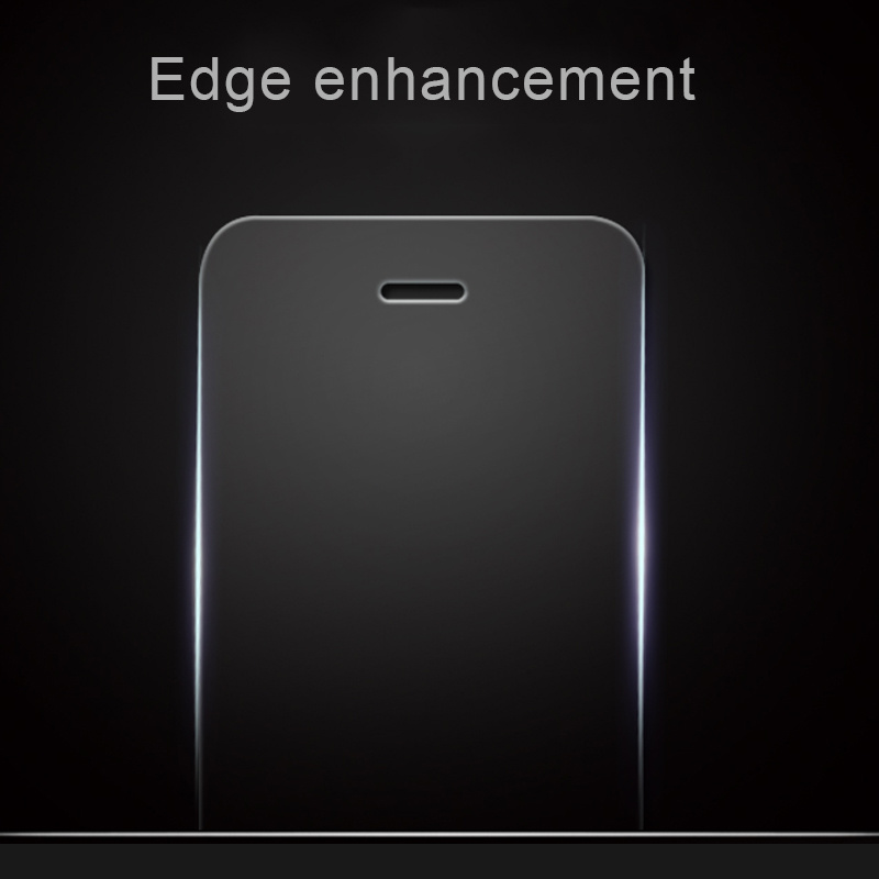 Edge Enhancement Flat Transparent Tempered Glass Screen Protector for iPhone 6/6 Plus Phone Film
