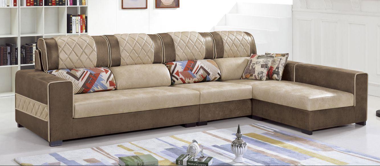 Hotel Sofa Bed Fabric Sofa (FEC1201)
