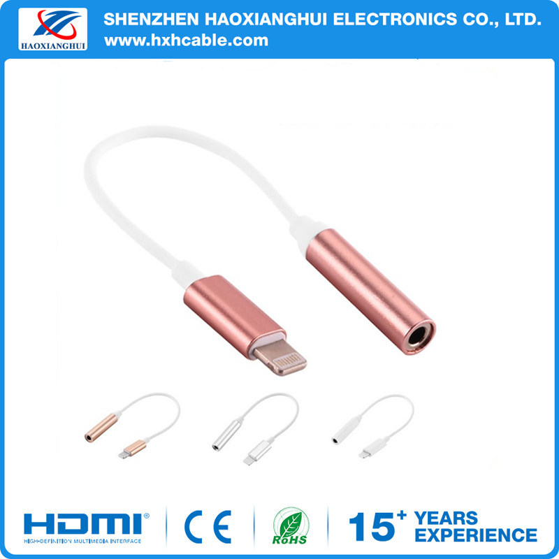for iPhone 7 Audio Adapter for iPhone Earphone