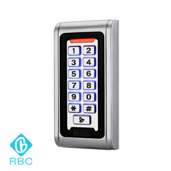 Wiegand Output Keypad Card Reader waterproof Metal Access Controller