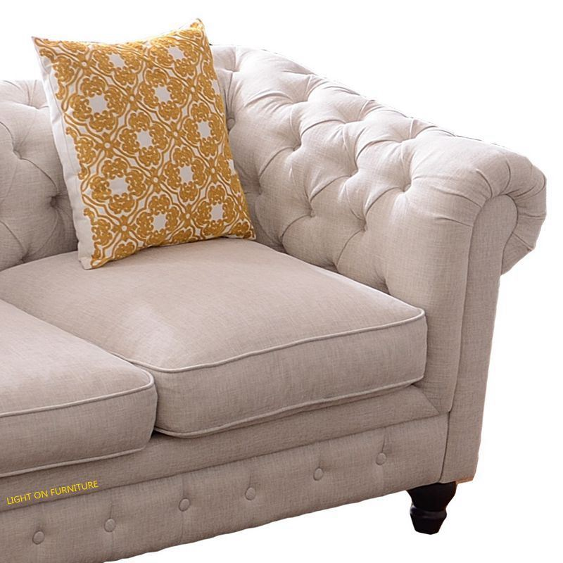 Living Room American Style Fabric Sofas (F721)