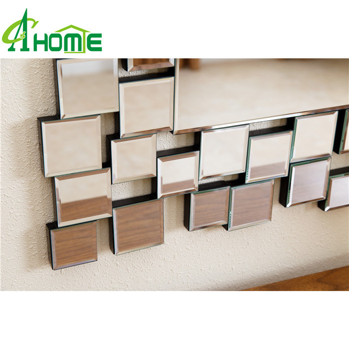 Elegent Rectangle Shaped Home Decor Wall Mirror