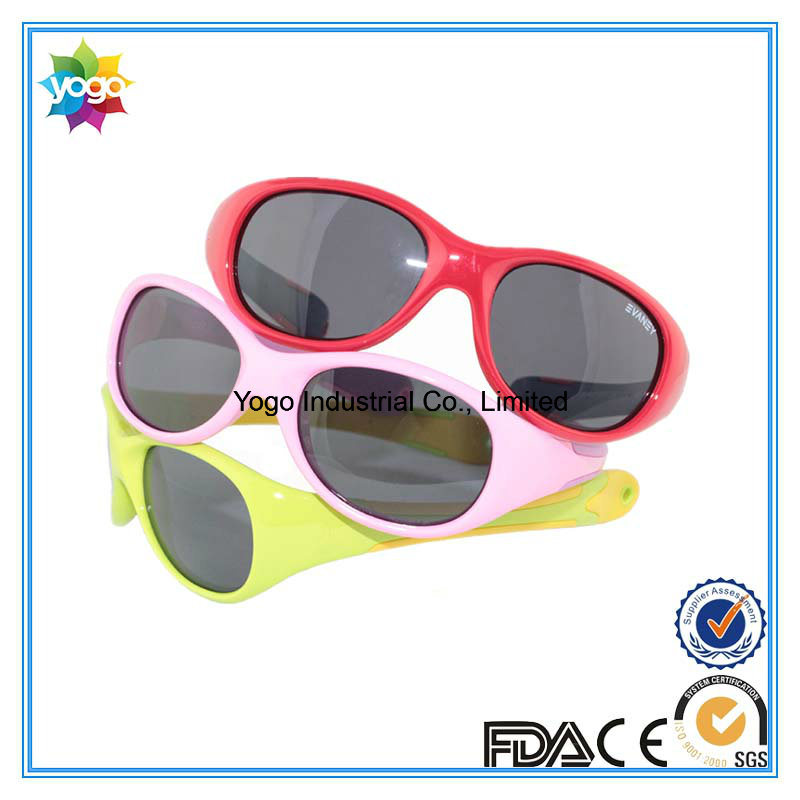 Pass En/an/as Round Fashion Brand Polarized Designer Sunglasses for Kids