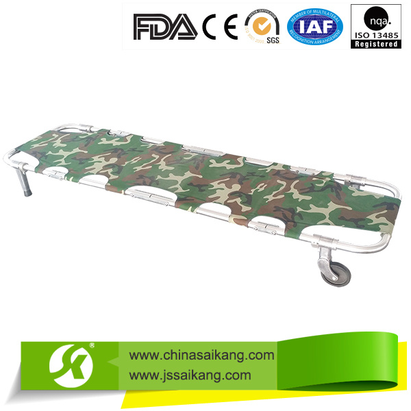 4 Foldable Patient First-Aid Ambulance Stretcher
