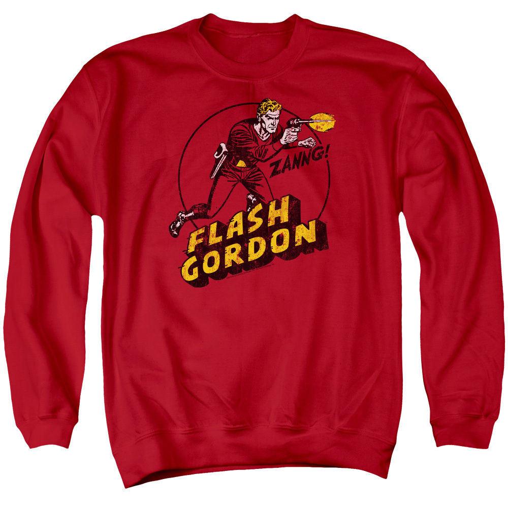Custom Mens Long Sleeve Crewneck Sweatshirt (A547)