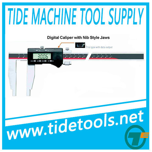 Heavy Duty Digital Caliper Without Upper Jaws