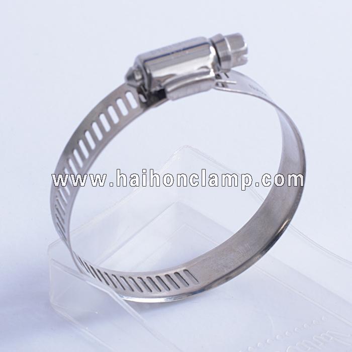 12.7mm Bandwidth American Type Hose Clamp