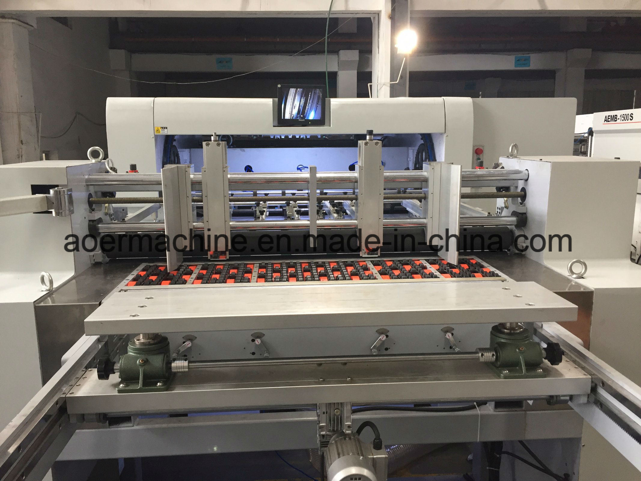AEM-1650VQ Lead Edge Automatic Stripping Die Cutting Machine