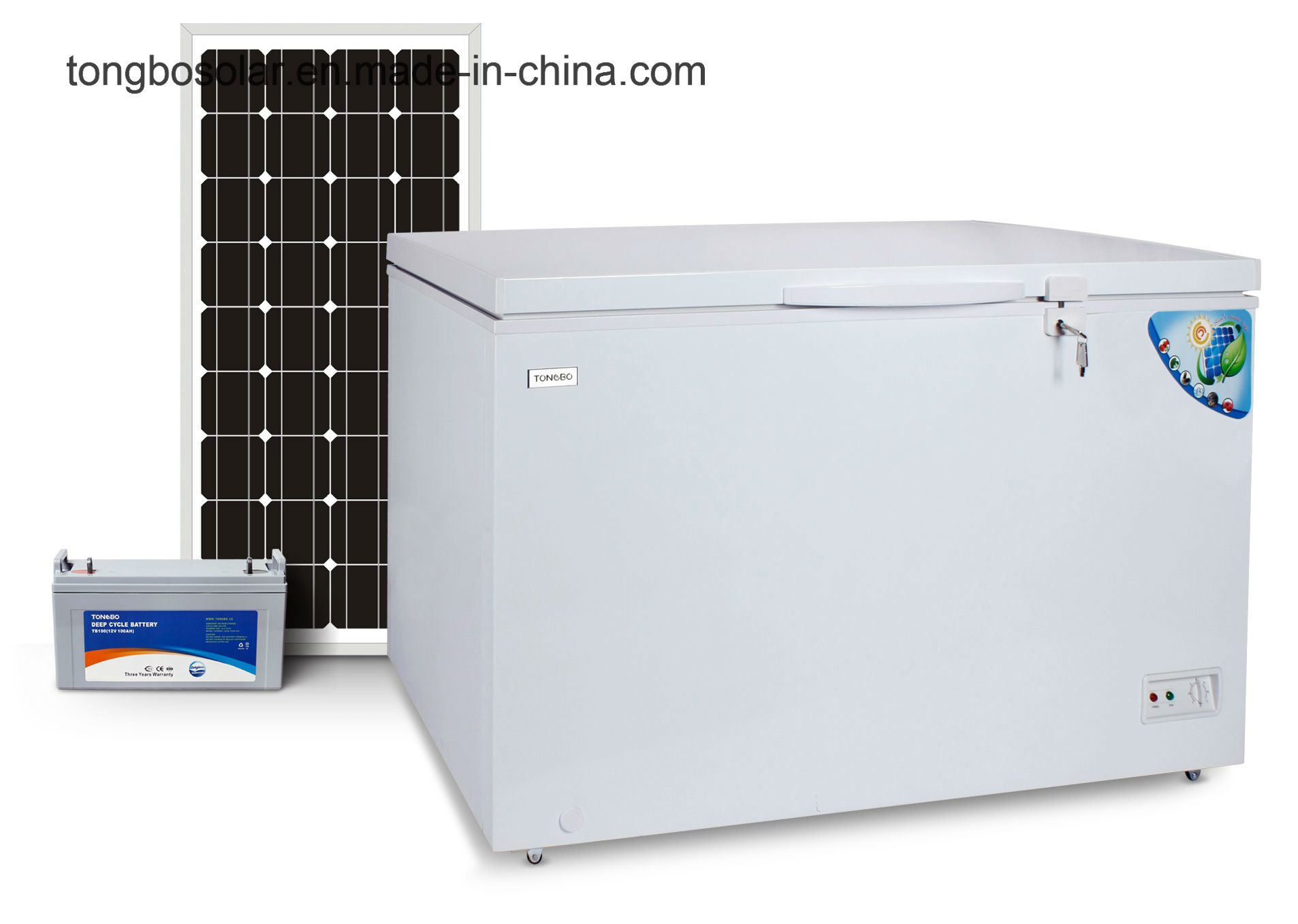 off Grid 100% Solar Powered DC 12V Chest Freezer 354L