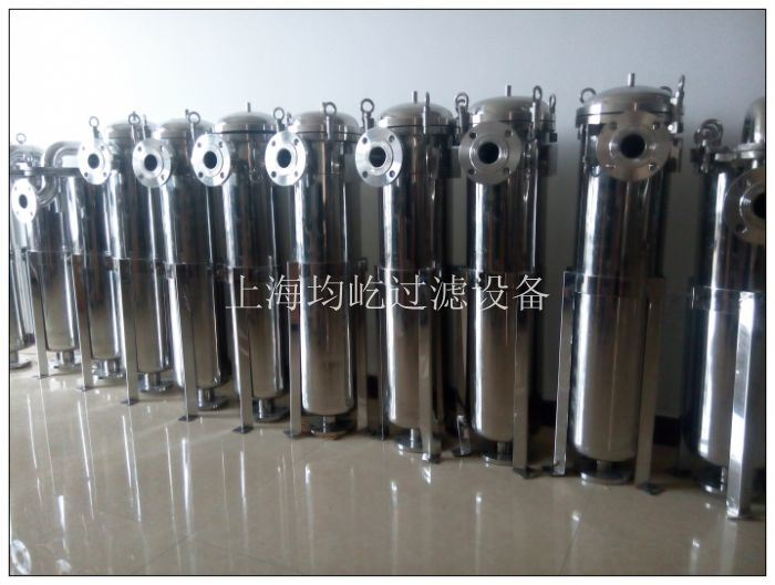Printing Ink Use Stainless Steel Single Bag Filter