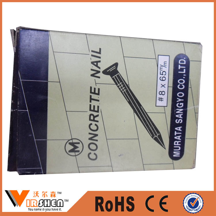 Galvanized Hardened Steel Concrete Nails