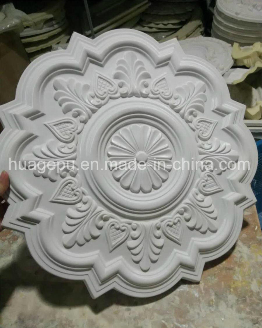 High Quality PU Foam Ceiling Medallion Moulding for Interior Decoration