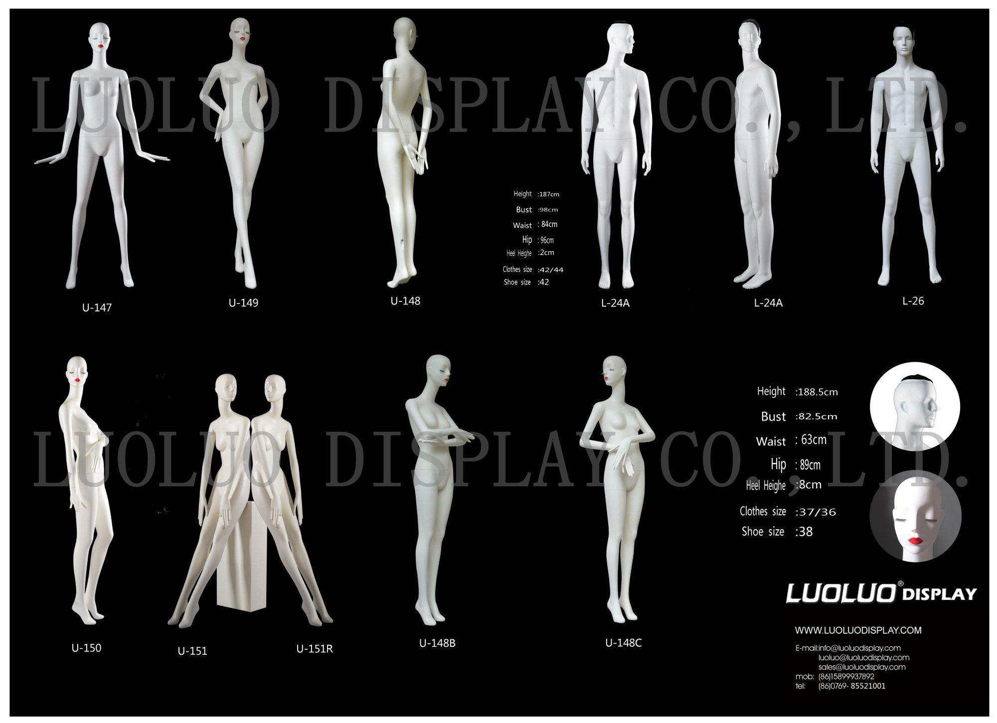 Origin Factory Design Female Mannequin with Wear Makeup