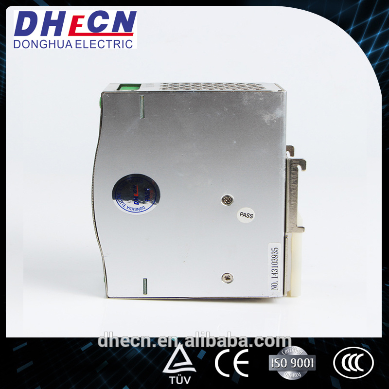 HDR-120, 120W DIN Rail Switching Power Supply 12VDC, 10A, 24VDC, 5A, 48VDC, 2.5A