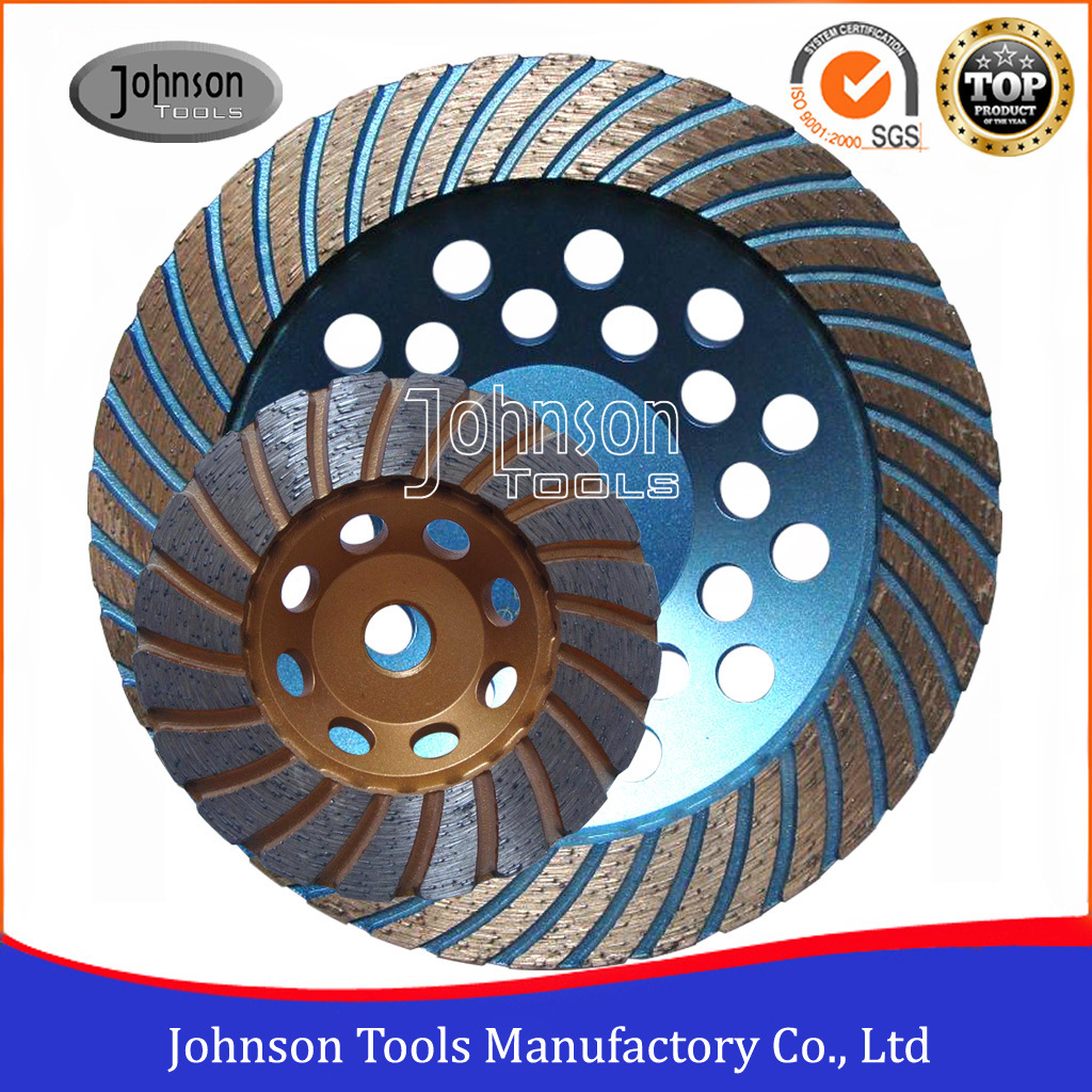 100-180mm Turbo Diamond Grinding Wheel for Stone