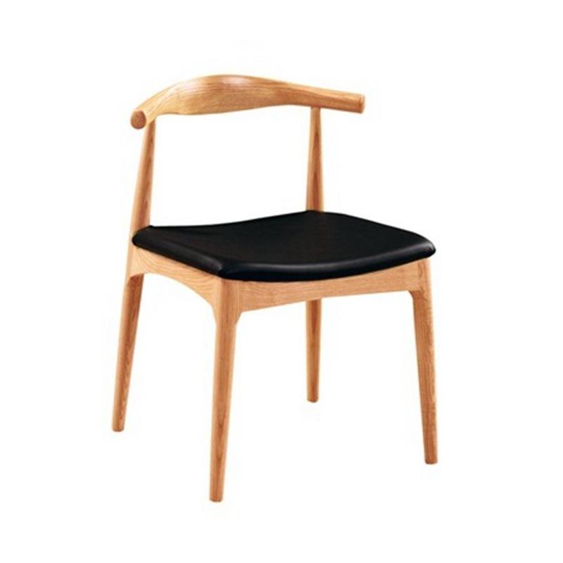 Restaurant Furniture Wood Horn Chair (C005)