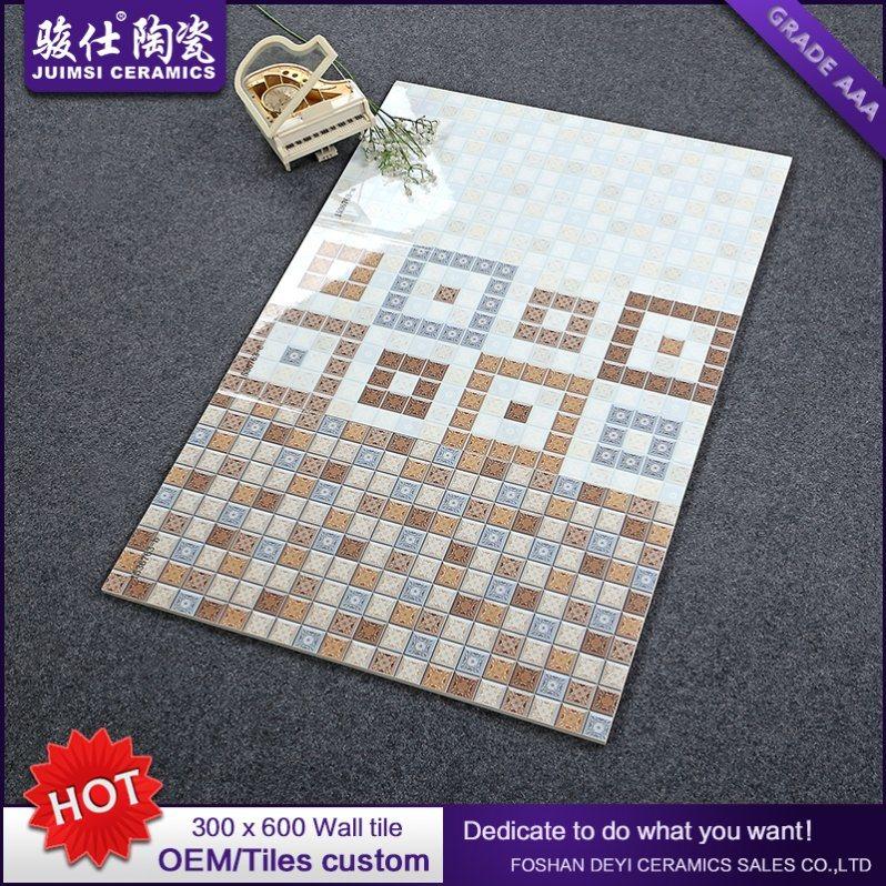 Foshan Waterproof 300X600 Kitchen & Bathroom Ceramic Wall Tile