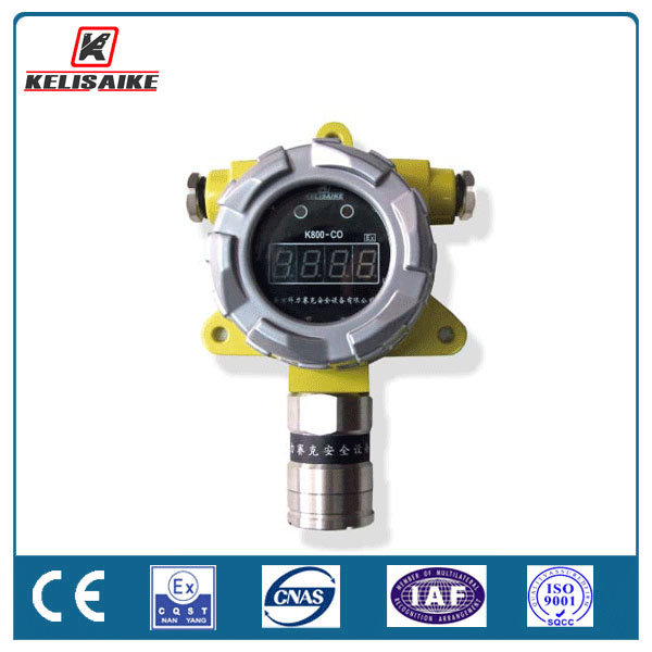 Steel Factory Workshop Gas Safety Monitor Co Gas Leakage Detector