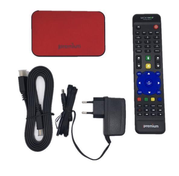 Ipremium Set Top Box with Stalker, Brazil IPTV Box 1g+8g