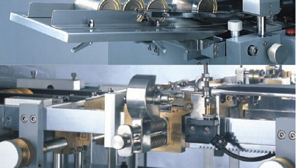 Hot Melt Glue Labeling Machine for Tin Can