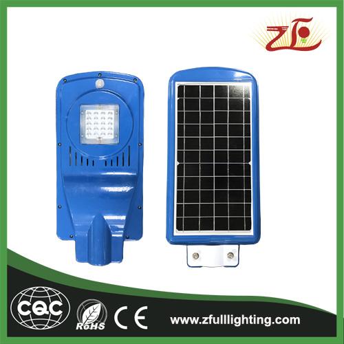 Colorful Type Solar Powered Energy LED Street Light Outdoor 20watt