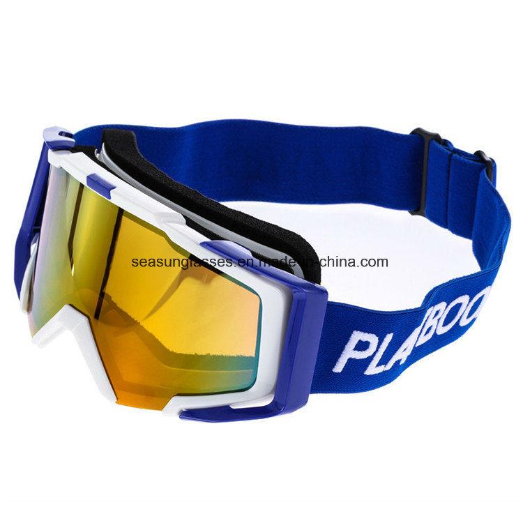 Frameless Ski Goggles UV400 Anti-Fog Snowmobile Skate Skiing Glasses Adult Snowboard Goggles Ultra-Light Winter Sports Goggles