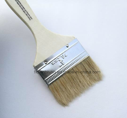 """2"""" Bristle Brush Single Thick Brush with Wooden Handle"""