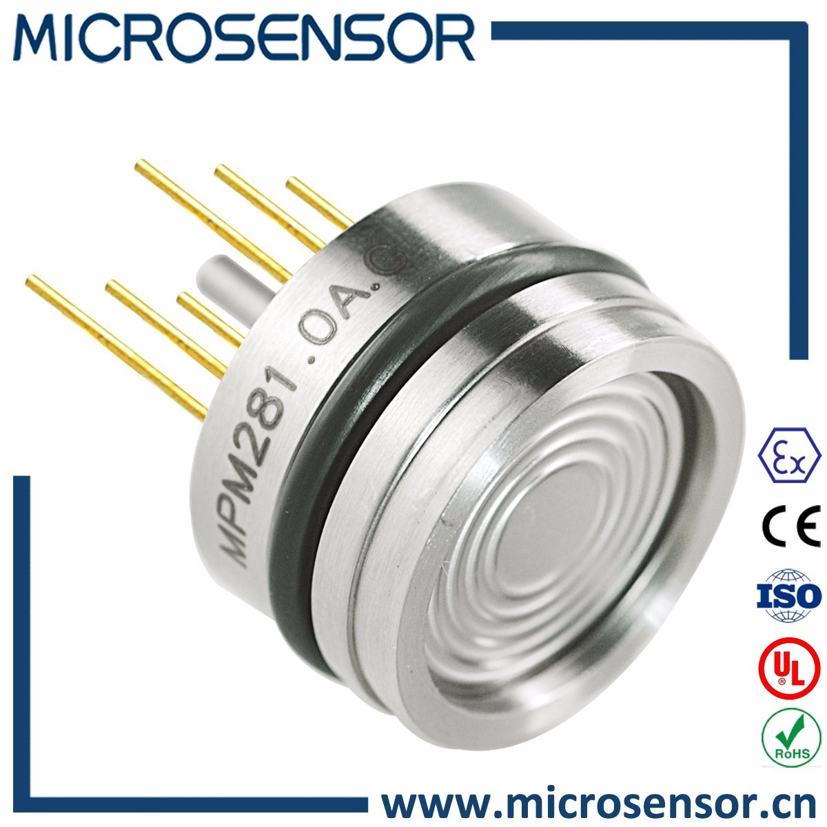 Temperature Compensated Pressure Sensor Mpm281