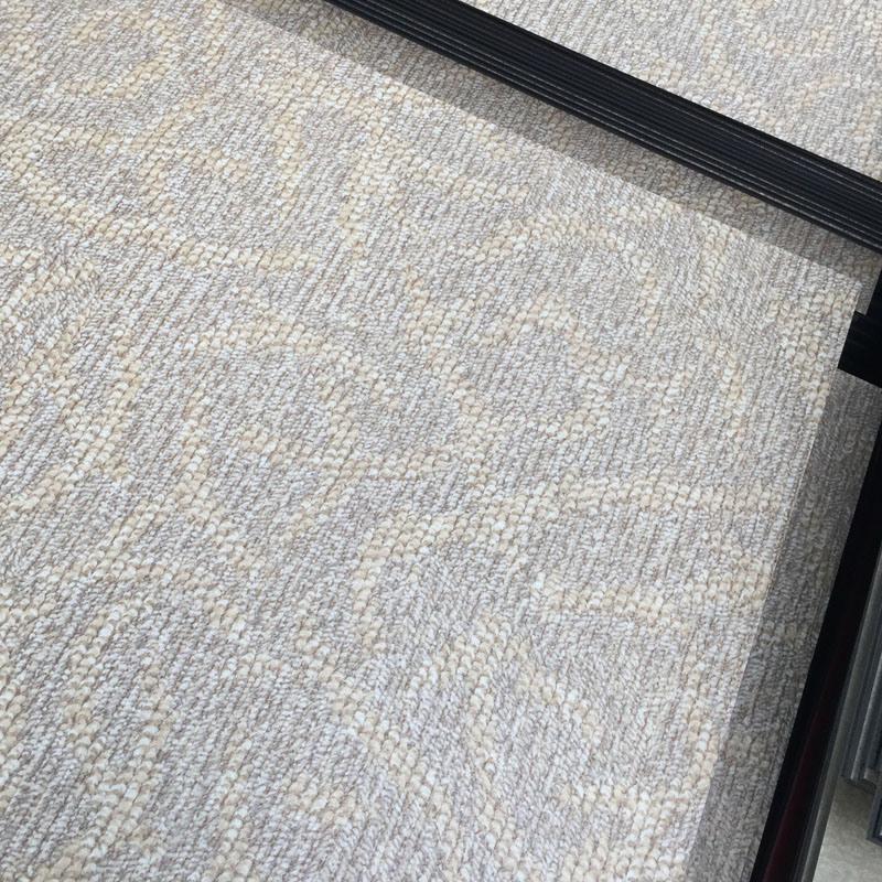 Carpet Grain PVC Vinyl Floor Tiles, 18′′x18′′ or 24′′x24′′