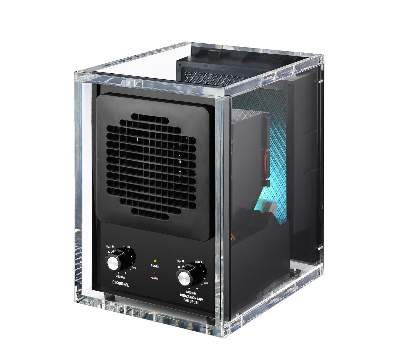 Clear Acrylic Cabinet Air Purifier