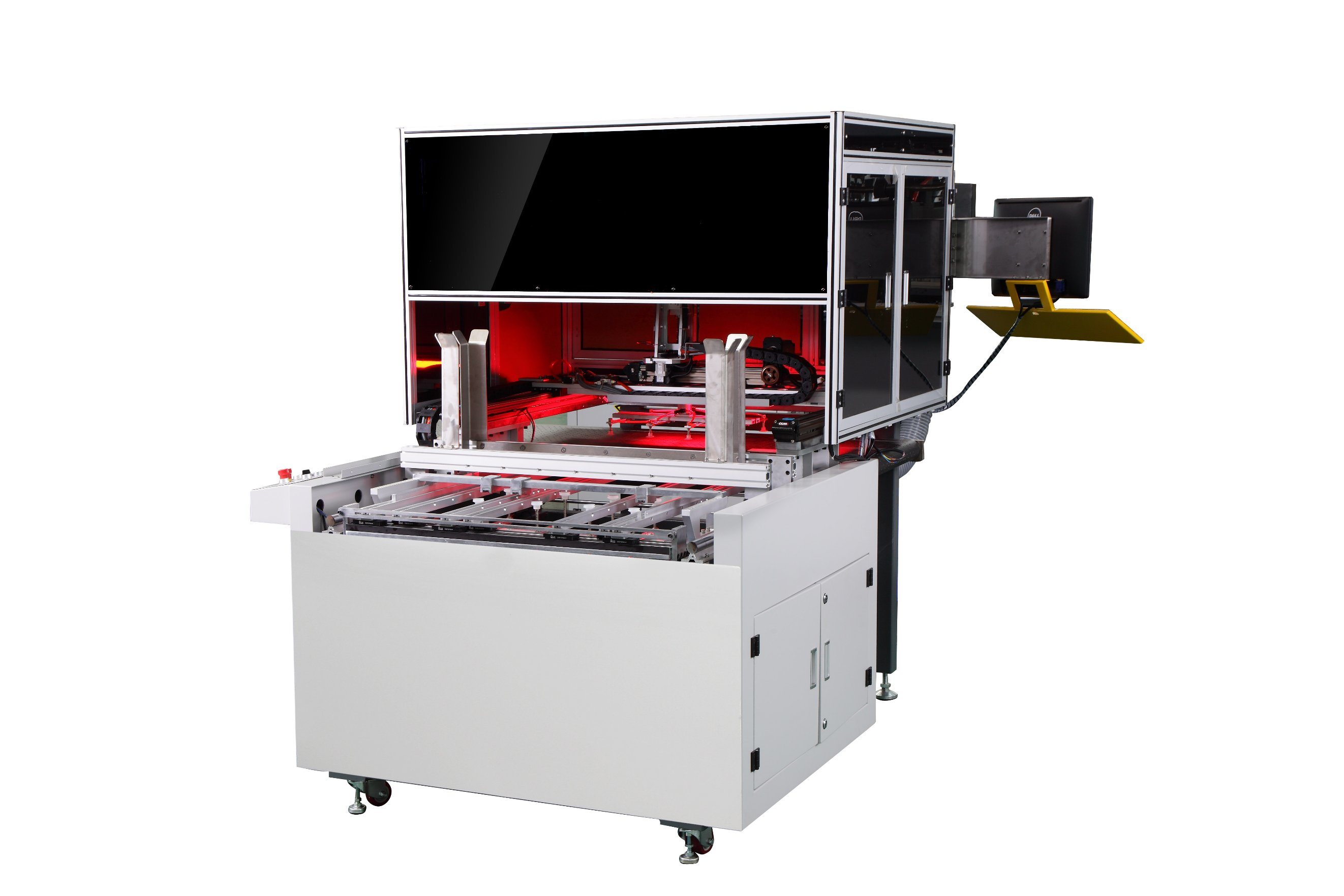 Automatic Servo Positioning Packaging Cot Shell Case Maker Glue Making Machine