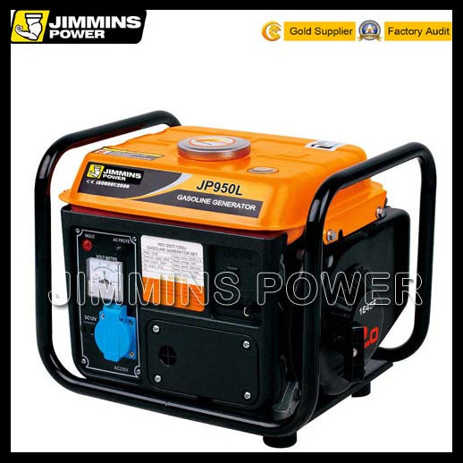 950 Series 650W Single Phase Air Cooled 2 Storke 3000rpm 50Hz 110/220/230/240V Portable Gasoline Generators Price for Home Shop Use