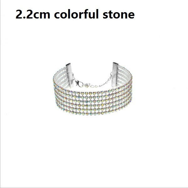 Fashion Ladies Sparkly Bling Full Crystal Rhinestone Bracelet Bangle for Women Bride Wedding