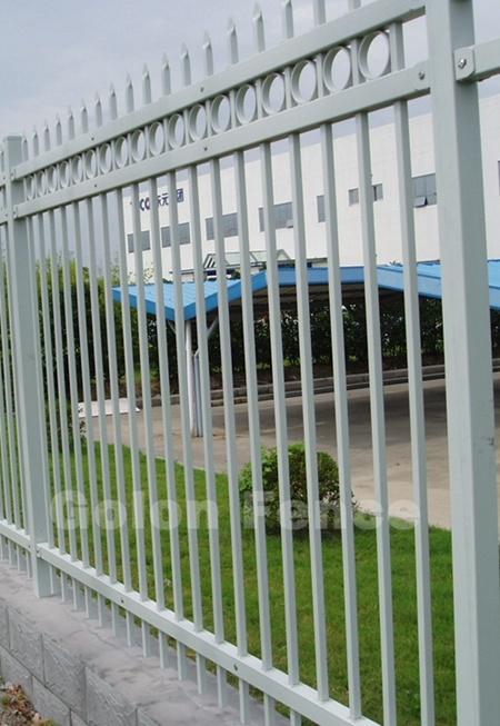 Galvanized Steel Walkway Outdoor Railing