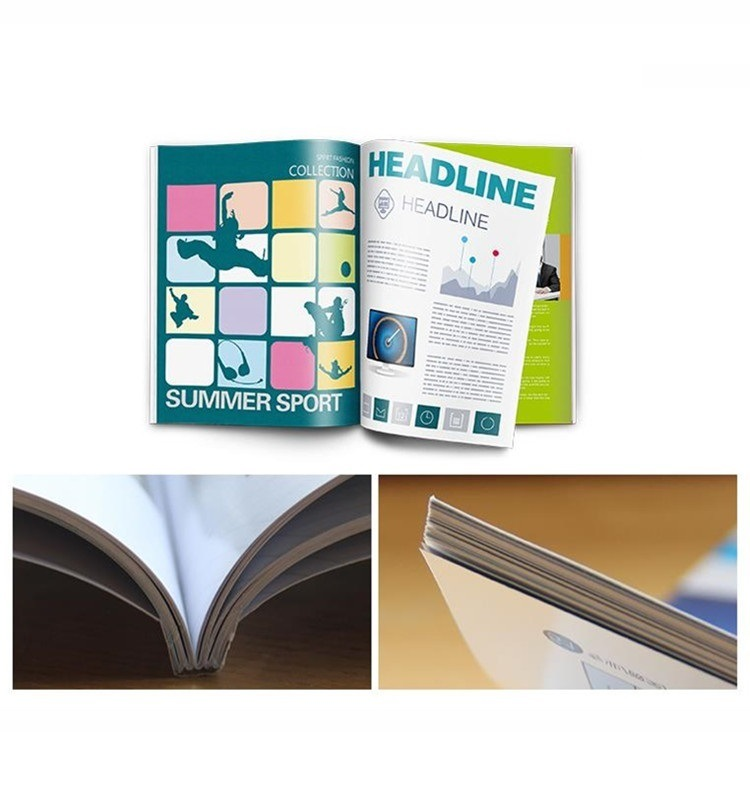 Economic Printing Services Book Printing with Long-Term Service
