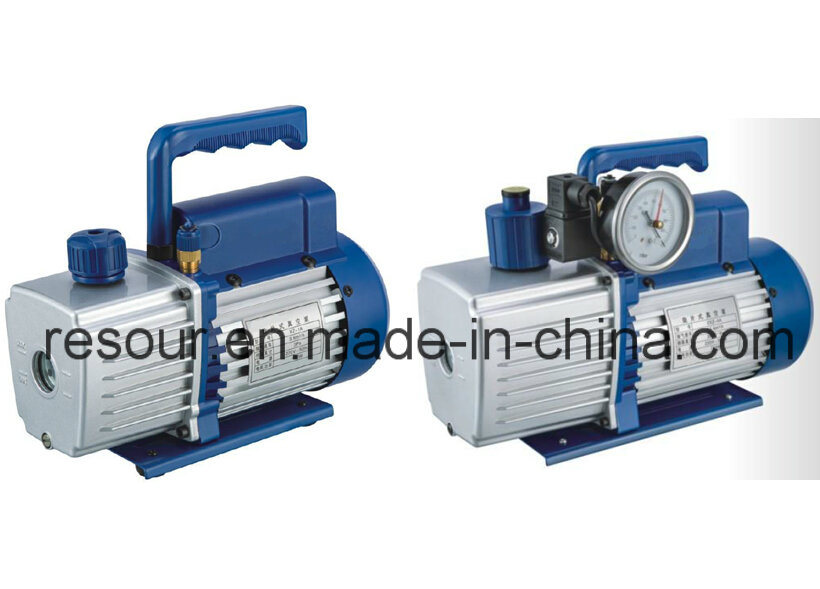 Vacuum Pump (with vacuum gauge and solenoid valve) for Refrigeration, Vp215, Vp225, Vp235, Vp245, Vp260, Vp280, Vp2100