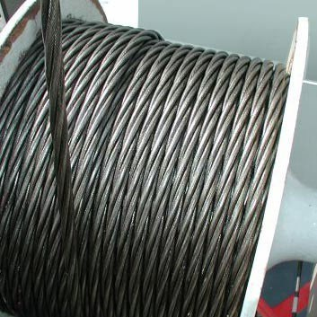 Ungalvanized Steel Wire Rope 4vx39s+5FC for Hang