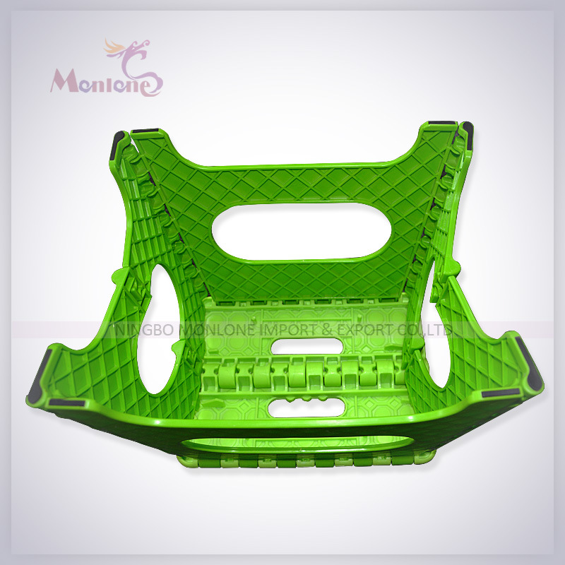 Kids Foldable Stool, Plastic Folding Step Stool for Outdoor Camping