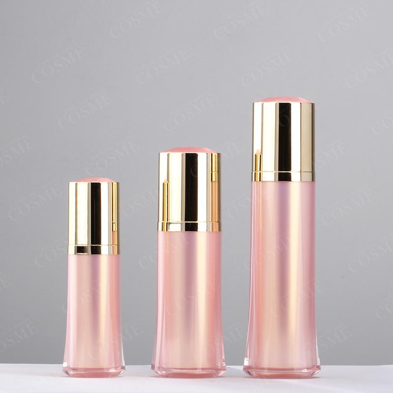 15ml 30ml 50ml New Design Luxury Plastic Acrylic Crystal Packaging Lotion Pump Cosmetic Bottle