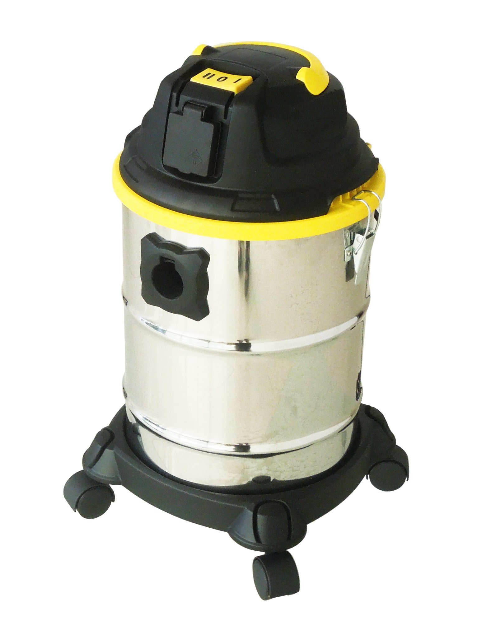 505-15L Stainless Steel Tank Wet Dry Water Dust Vacuum Cleaner with or Without Socket