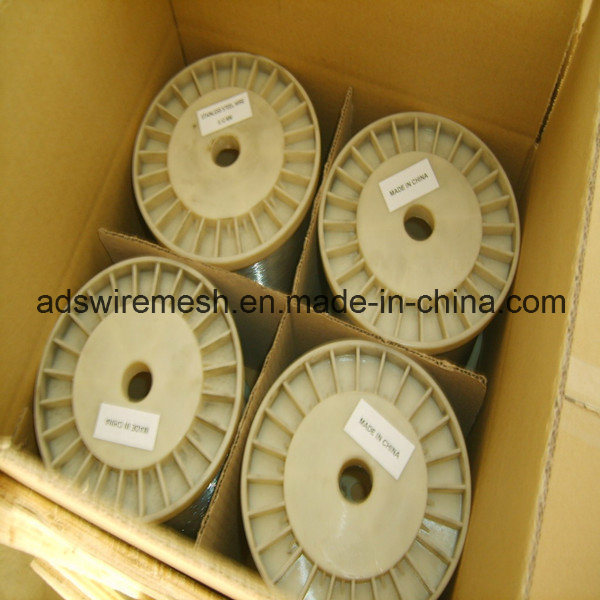 Material SUS304 0.13mm Stainless Steel Wire (ISO9001)