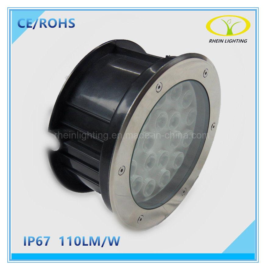 IP67 Stainless Steel 18W LED Buried Inground Light