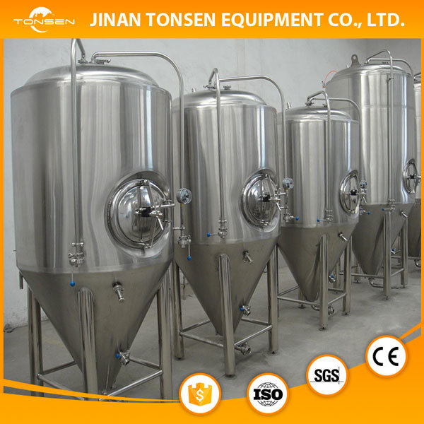 1000L Beer Equipment, Full-Cycle Plant Fermentor, Brewing Kettle, Bbt Tank