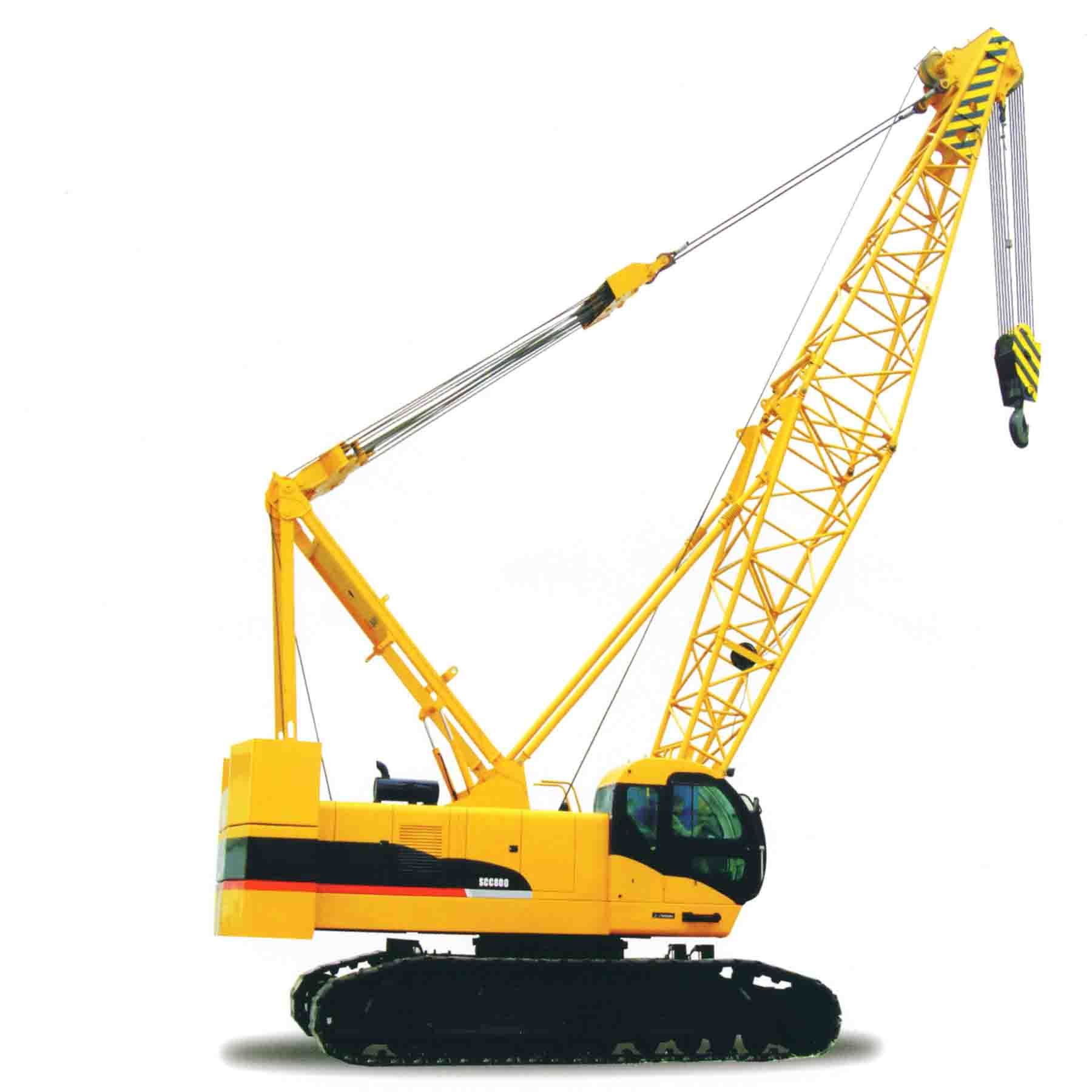 China hydraulic crawler crane scc500b china hydraulic for The crain